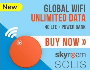 Enjoy Unlimited Data and fast secure wifi connection WITH SKYROAM