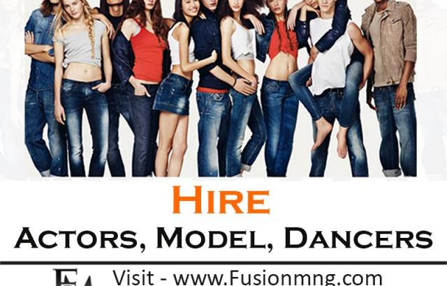 Hire Commercial Models from Fusion Management