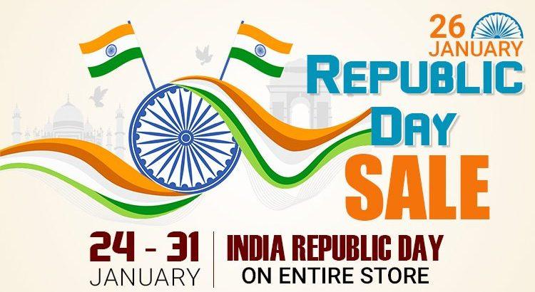 Gemexi Republic Day Sale – 24 to 31 Jan 2020