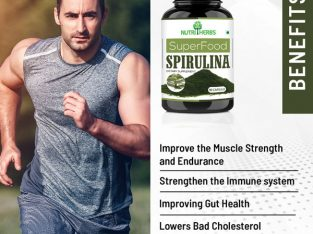 Buy Spirulina Capsules Online in India at Best Price