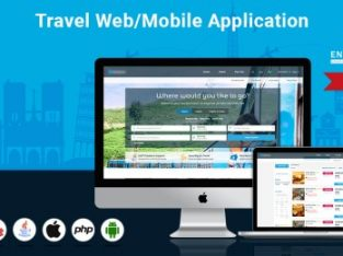 Travel Agency Portal for Web and Mobile App at just $4999