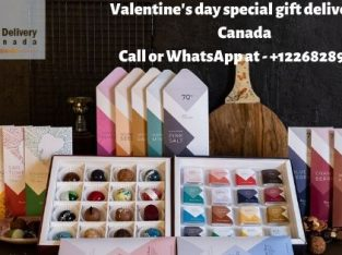 Valentine's day gift delivery in Toronto Canada