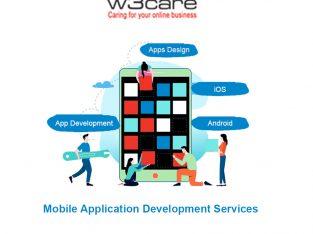 Mobile app development agency in USA W3care