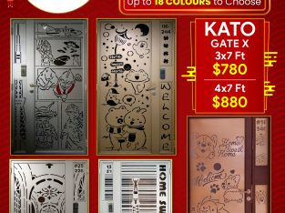 CNY PROMOTIONS ON HDB GATE, 150+ DESIGNS OF KATO GATE FROM $780 HP 96177025