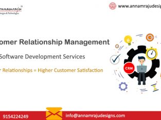 CRM Softwares Services Hyderabad | CRM Software Development |Annamraju Designs