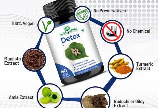 Buy Detox 90 Capsules online at Low Price in India