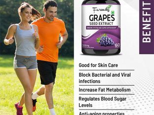 Buy Farmity Grapes Seed Extract Capsule for Immune System