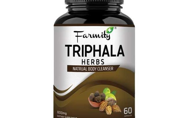 Buy Triphala 60 Capsules for Natural Body Cleanser