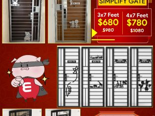 CHINESE NEW YEAR OFFERS FROM MYDIGITALLOCK, KATO SIMPLIFY GATES FOR HDB FROM $680 HP 96177025