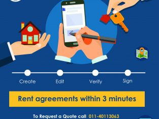 Send And Sign Rent Agreement Online Within 3 Minutes In Delhi NCR