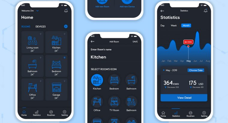 A Smart Digital Home Solution App for Your Residence | HomeKonnect