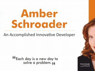 An Accomplished Innovative Developer | Amber Schroader
