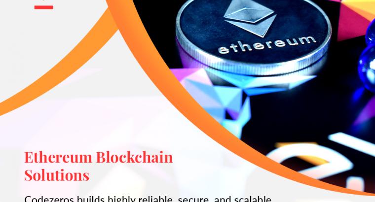 Ethereum Crypto Solutions   Ethereum Blockchain Solutions