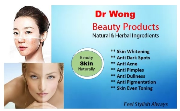 Dr Wong 40 Methods Of Skin Light Cream Soap and Tonic Domination for Whitening