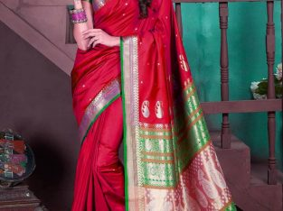 Buy Latest Traditional Silk Blend Sarees at Mirraw
