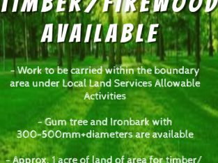 Free Timber/Firewood Available