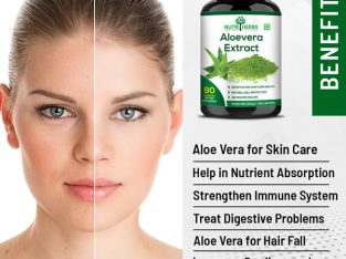 Huge Discount on Aloevera Capsules from Heebs at Best Price