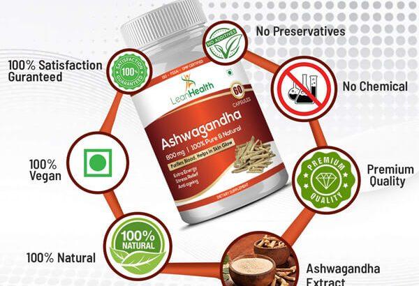 Buy Leanhealth Ashwagandha for Immunity Booster and Skin Glow