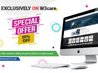 W3care Website design development offers