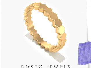 Solid Gold Eternity Ring