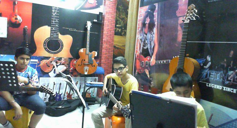 Jazzelinn Guitar School- Guitar Classes, Academy, Home Tutors, Online Lessons