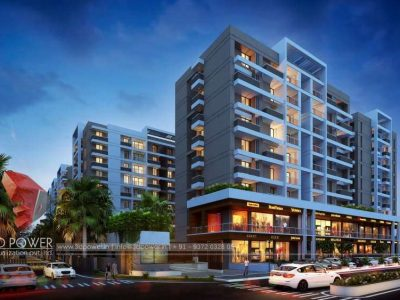 Apartments, Bungalows & Commercial Projects by 3D Power.