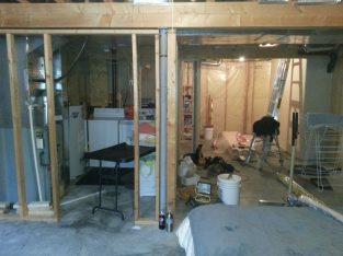 Basement Renovation by Clotek Group Inc.