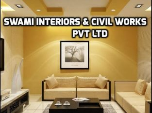 SWAMI INTERIORS & CIVIL WORKS PRIVATE LIMITED TURNKEY CONSTRUCTION CONTRACTOR