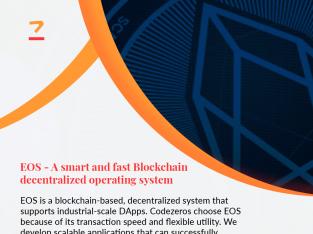 EOS Development Services   EOS Blockchain Development