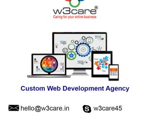 W3care Custom web and app design development company New York USA