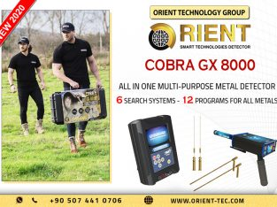 COBRA GX 8000 – Best treasure Hunting Device for Prospectors