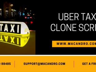 UberTaxi Clone App | On-demand Taxi Booking App | MacAndro
