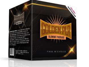Golden PLR Blowout Package