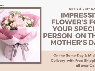 Flowers Delivery with Free shipping on Mothers Day in Canada