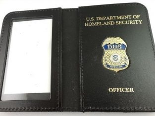 Neck Chain Badge Holder Wallet, Badge Cases, Belt Blip, Name Badge Holder