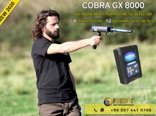 COBRA GX 8000 – Best treasure Hunting Device for Prospectors