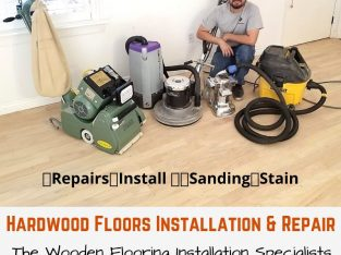 Hardwood Floors Installation and Repair