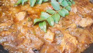 Pepper chicken gravy