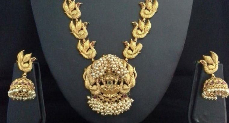 Gold Necklace with Price and Weight