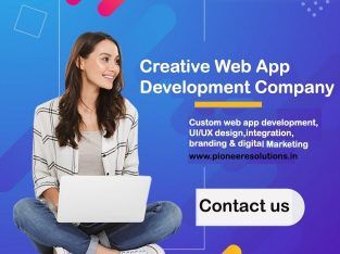 Web App Development Company in Gurgaon | Pioneer E Solutions