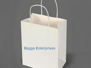 White paper bags Manufacturer India | Get Fashion Products