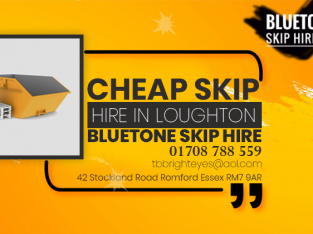 Cheap Skiphire in Loughton