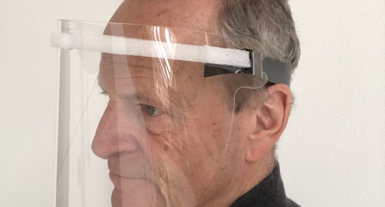 Covid-19 Face Shield Protection Headband 250MYM (Pack of 10)