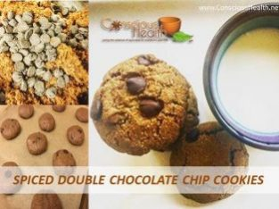 Spiced Double Chocolate Chip Cookie – Grain Free & Paleo
