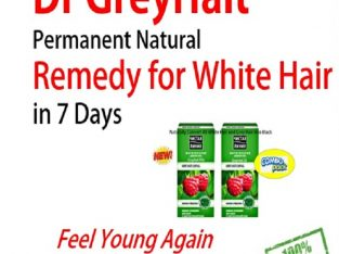 Dr GreyHalt Combo Easier to Succeed With Grey Hair Treatment