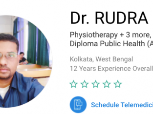 Dr. RUDRA RAY – Physiotherapy in Kolkata | PatientMD