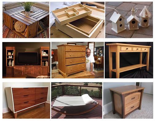 Learn to work with wood. Woodworking
