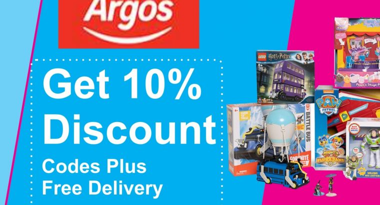 Enjoy Argos Free Delivery And £10 Off Argos Code With Coupon N Deal