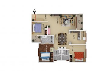 2&3 BHK flats for sale @SV GRANDUR apartment electronic city