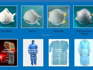 Global Wholesale Supplier of N95 Face Masks, PPEs, Infrared Thermometers and Sanitizers